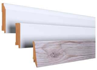 Classic baseboards-mdf